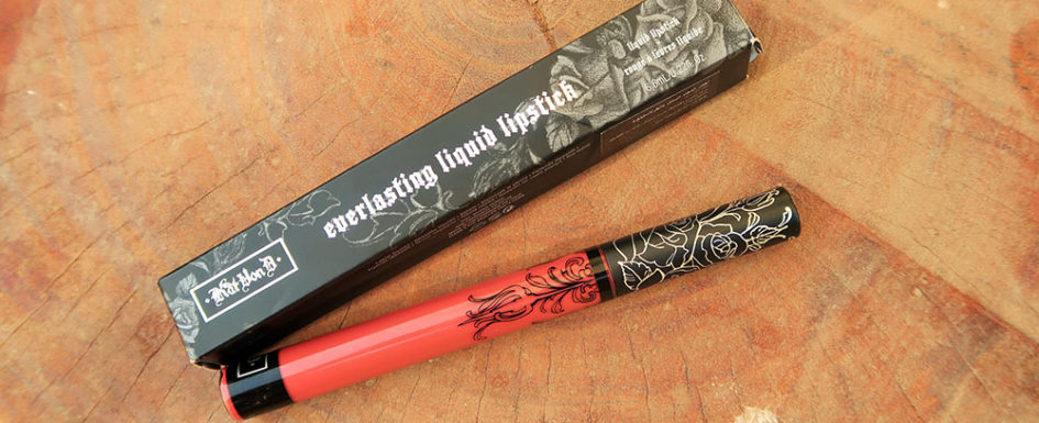 4857063ce4c4d KAT VON D DOUBLE DARE LIQUID LIPSTICK | REVIEW - Maha's Corner